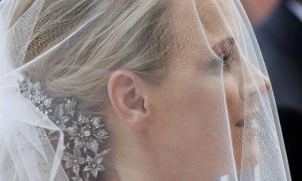 Charlène Wittstock nel giorno delle sue nozze con Alberto II